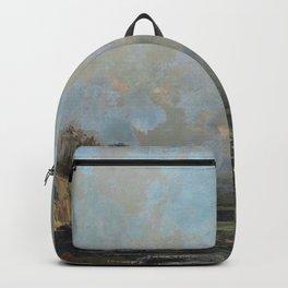"Gustave Courbet ""Lake Geneva (Le Lac Léman - La Dent du midi)"" Backpack"
