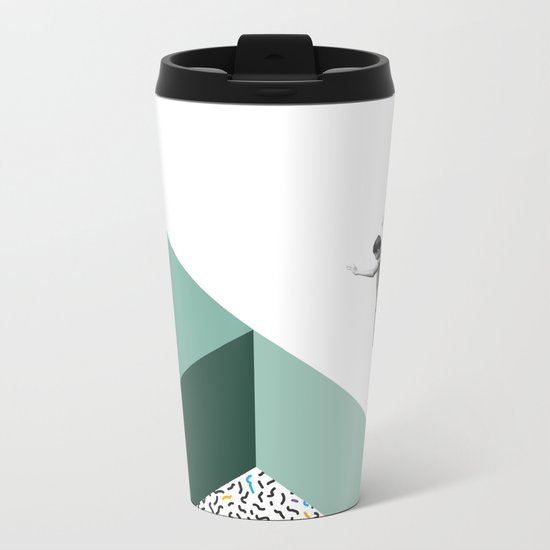 Minimal. Modern. Concept Art. Metal Travel Mug