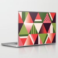watermelon Laptop & iPad Skins featuring watermelon by Gray
