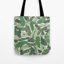 Savusavu Tropical Print Tote Bag