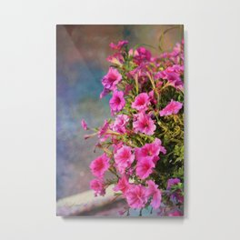 Glorious Pinks Metal Print