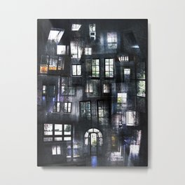 Views from Insides Metal Print