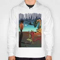 surrealism Hoodies featuring Surrealism No.1-4 by WROSIV