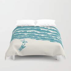 To the sea Duvet Cover