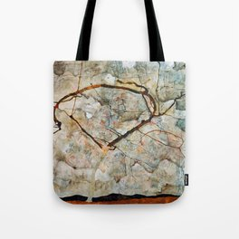 Egon Schiele Winter Tree Tote Bag