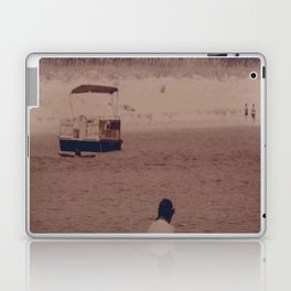 girl on beach Laptop & iPad Skin