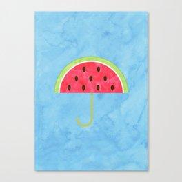 Juicy Umbrella Canvas Print