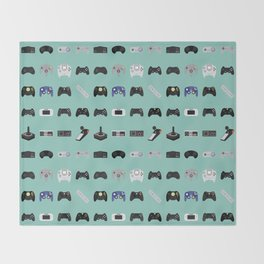 Console Evolution Throw Blanket