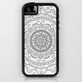I Am Enough Mandala iPhone Case
