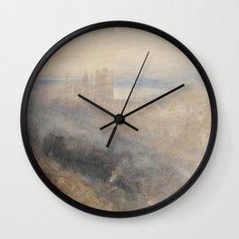 "J.M.W. Turner ""Moon over Lausanne"" Wall Clock"