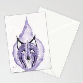 Hitodama the Spirit Wolf. Stationery Cards