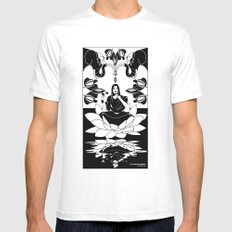 Indian coffee Mens Fitted Tee White SMALL