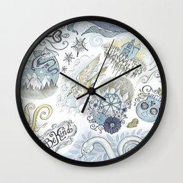 Tattoo Pattern Wall Clock