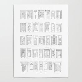 Portes de la 1re ave, Rosemont, Montréal Poster