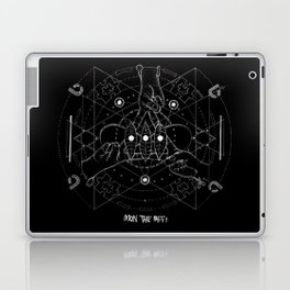 biffy x mandala Laptop & iPad Skin