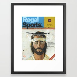 """The Greatest Magazine Never Made"" Framed Art Print"