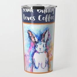 Some Bunny Loves Coffee Travel Mug