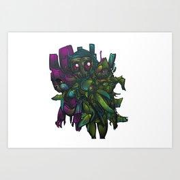 Aberration Art Print