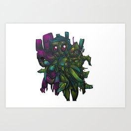 Aberration Art Print