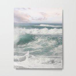 Tropical Waves Metal Print