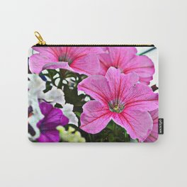 pink flowers Carry-All Pouch