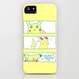 Teenage Poke Romance iPhone Case