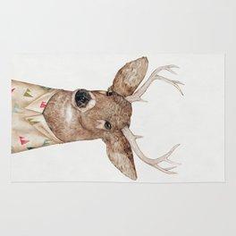 White Tailed Deer Rug