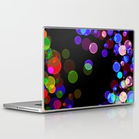 bubbles Laptop & iPad Skins featuring Bubbles by haroulita
