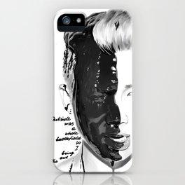 Rap Monster iPhone Case