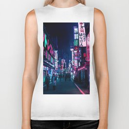 Nocturnal Alley Biker Tank