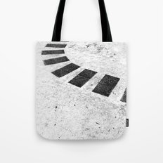 Floating plates Tote Bag