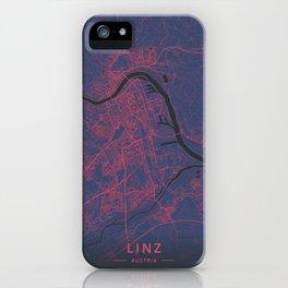 Linz, Austria - Neon iPhone Case