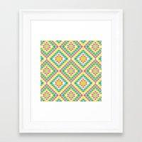 southwest Framed Art Prints featuring Southwest by Jacqueline Maldonado