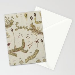 Moss And Hornwort Botany Stationery Cards