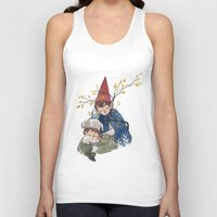 over the garden wall Tank Tops featuring Over the garden wall by Rozenn