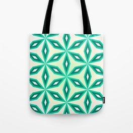 Diamonds and flowers Tote Bag