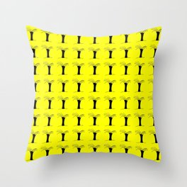 Palmetto-palms,drupe,sabal,swamp,cabbage,abanico,drupa,palmera Throw Pillow