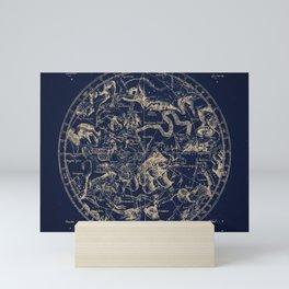 Gold Ceiling | Zodiac Skies Mini Art Print