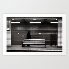 "GHOSTTRAIN of Berlin - ""VACANCY"" zine Art Print"