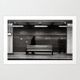 """GHOSTTRAIN of Berlin """"VACANCY"""" zine Art Print"""