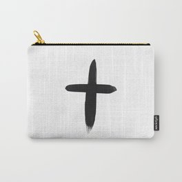 Watercolor Cross Carry-All Pouch