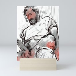 Waiting for you! Mini Art Print