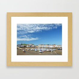 Ilfracombe Harbour Framed Art Print