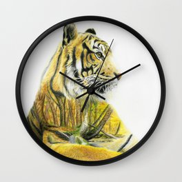 Timberland Tiger Wall Clock