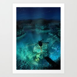 The Universe Below Art Print