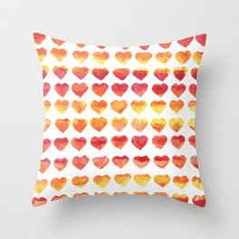 Fiery passion Throw Pillow