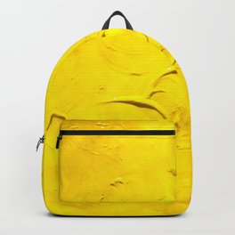 Yellow  Ripples Backpack