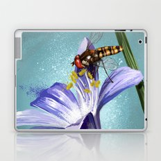 Wasp on flower 11 Laptop & iPad Skin