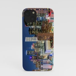 Downtown Houston Skyline from above! iPhone Case