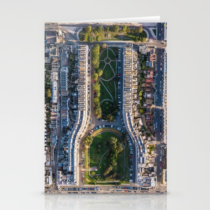 Drone Shot of Palmiera Square, Brighton & Hove Stationery Cards